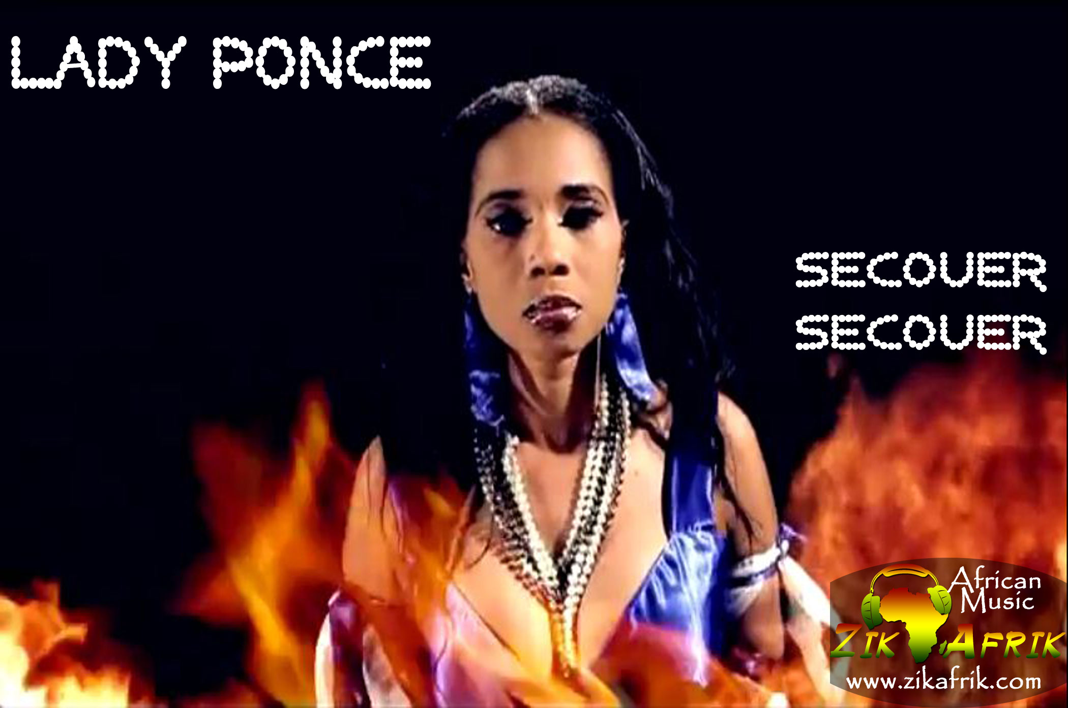 lady ponce secouer